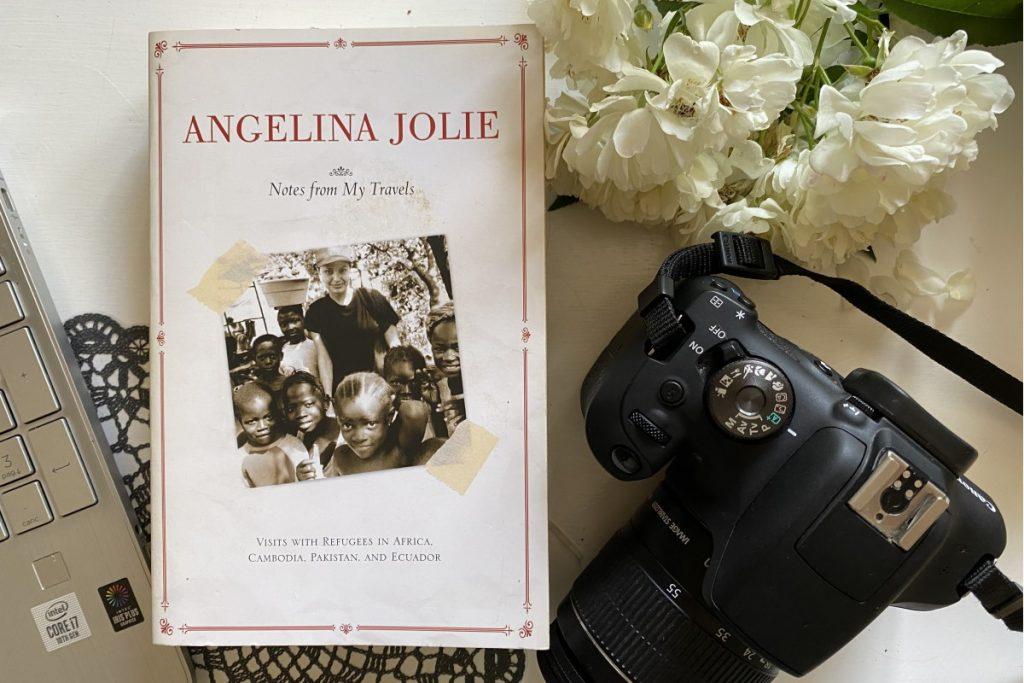 Libro di viaggio agelina jolie