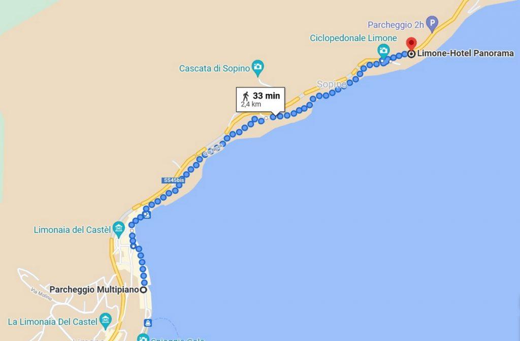 Cycle path of Garda