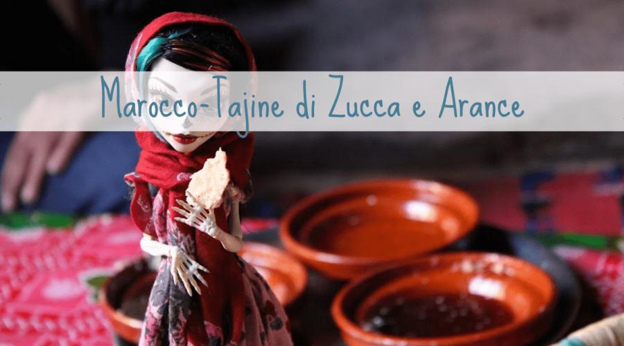 Marocco tajine ricetta zucca e arance