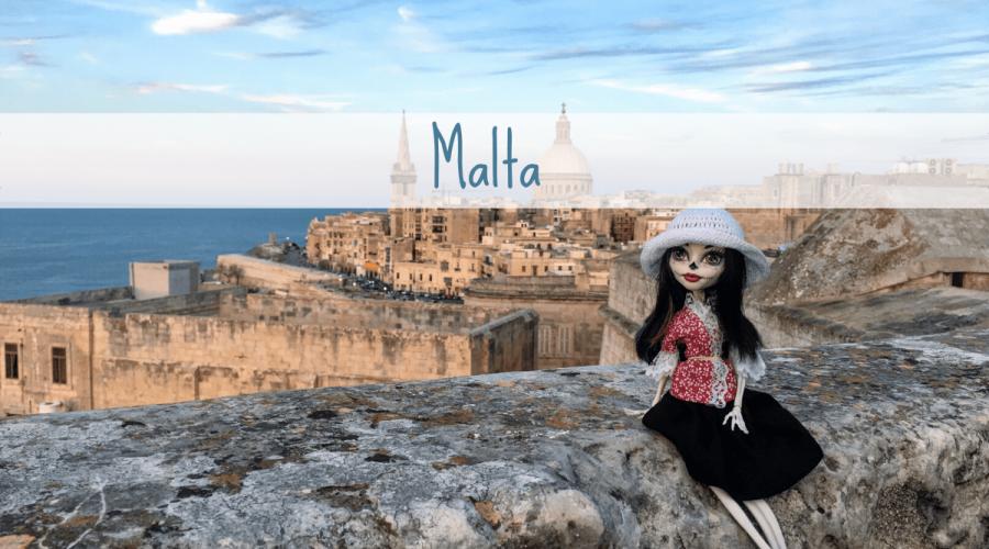 Copertina per viaggio a Malta